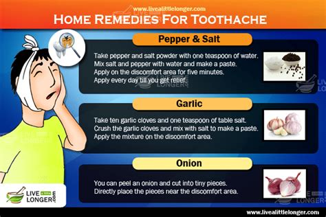 10 best remedies to relieve severe toothache