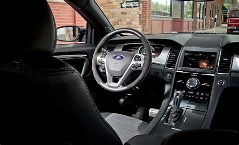 2014 Ford Taurus Sho Interior car and driver