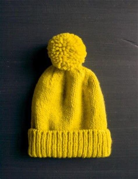 yellow hat pattern yellow hats purl bee and knitting on pinterest