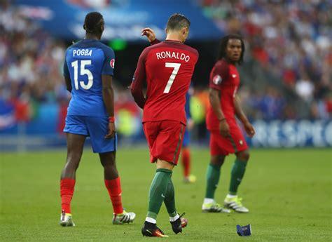 Epc Zinedine Zidane cristiano ronaldo photos photos portugal v