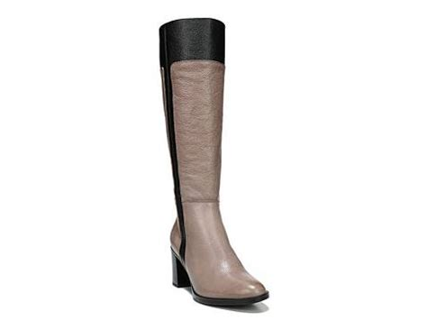 naturalizer frances wide calf boot dsw