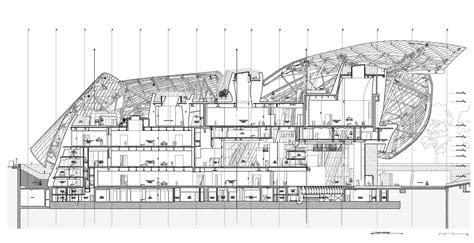 The Vue Floor Plans fondation louis vuitton pour la cr 233 ation frank gehry