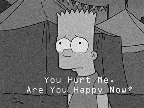 bart simpson sad quotes