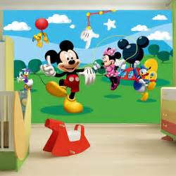 Disney Wall Stickers For Kids Bedrooms Childrens Bedroom Disney Amp Character Wallpaper Wall Mural