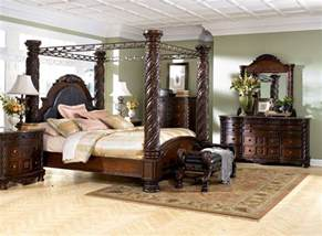 Large Canopy Bedroom Sets Types Of King Bedroom Sets Homedee