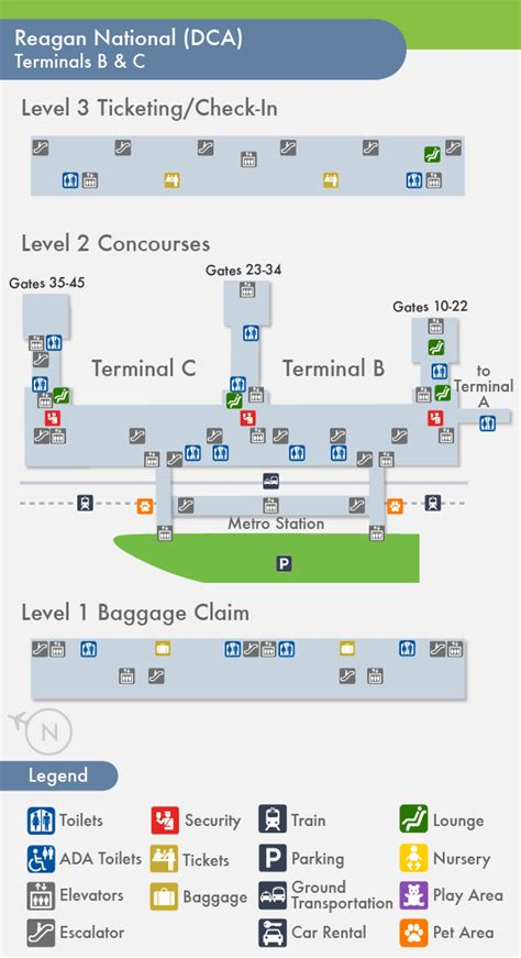 us airways terminal map dca travelnerd terminal c
