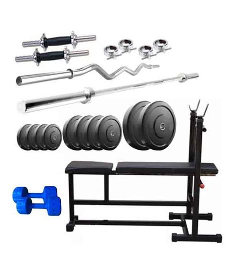 bench press rod weight facto power 3 in 1 bench press 44 kg weight plates