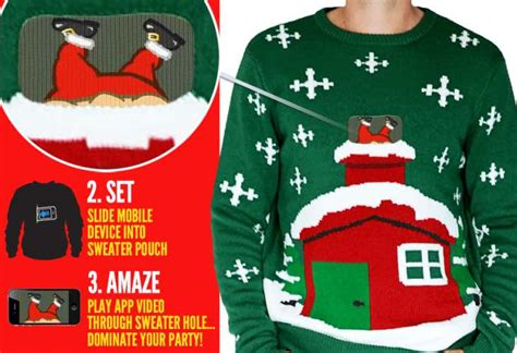 2014 christmas sweater ideas with smartphone app product