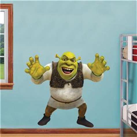 Shrek Wall Stickers shrek roar decal removable wall sticker home decor art