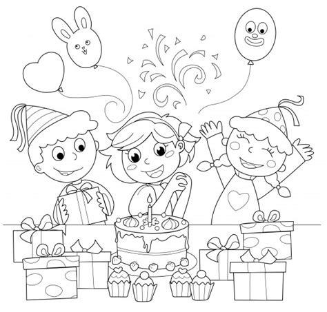 imagenes para colorear feliz cumpleaños divertidos dibujos de cumplea 241 os para descargar y pintar