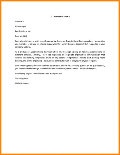 sle email for sending resume sle email sending resume to hr how to write an email to