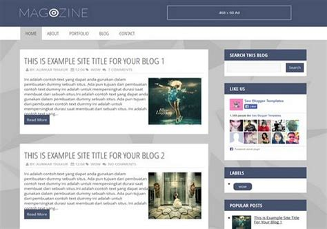themes girl software download magozine blogger template 2014 free download