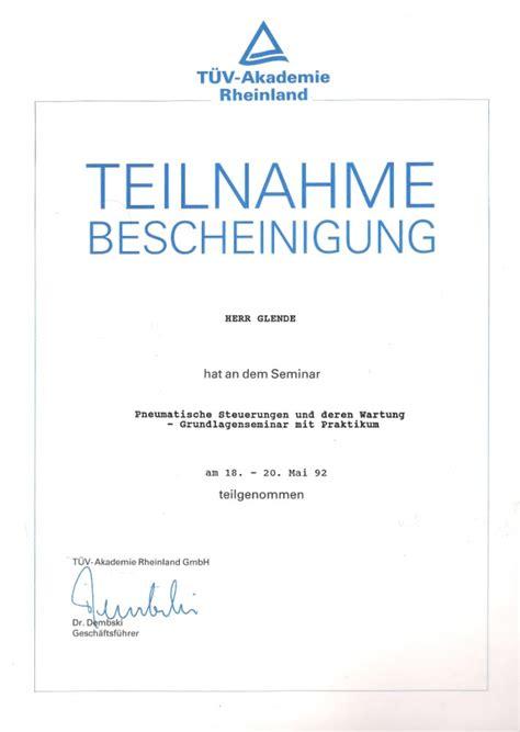 Vorlage Word Teilnahmebescheinigung Talos Technikservice