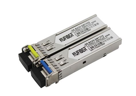 bidi sfp bidi 1 25g sfp 20km tx1550nm rx1310nm single mode gigabit