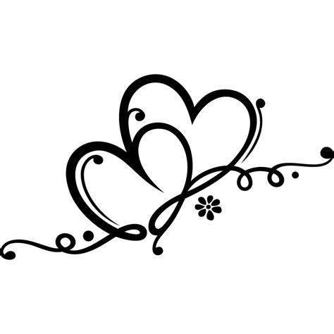 Wallstickers folies : Heart Wall Stickers