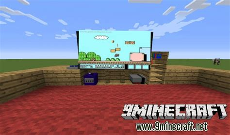 game consoles mod 1 8 decorative videogame systems mod 1 7 10 9minecraft net