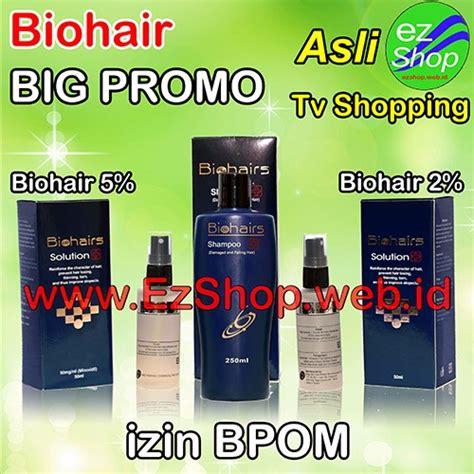 Paket Penumbuh Rambut Terbaik Asli Indonesia Halal Bpom bio hair cara memanjangkan rambut alami asli ez shop tv shopping ijin bpom