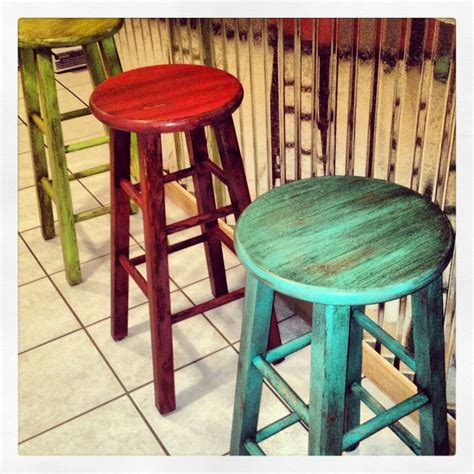 how to paint a bar stool 25 best ideas about painted bar stools on pinterest