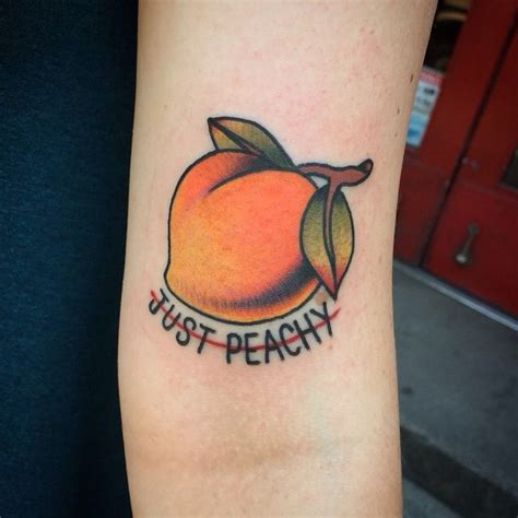 cartoon tattoo on tumblr just peachy image 3224686 by patrisha on favim com