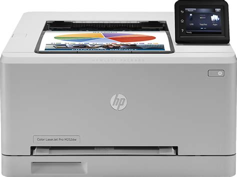 Hp Laserjet Pro M252dw Wireless Color Printer Gray B4a22a