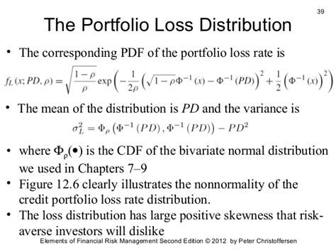 Credit Loss Formula Credit Risk Management 2