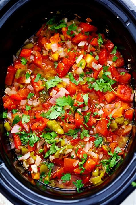 cooker restaurant style garden salsa recipe