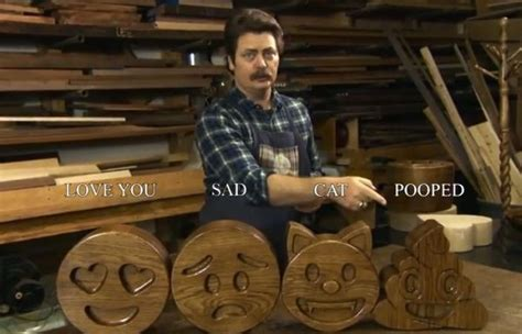 nick offerman answers woodworking questions  twitter