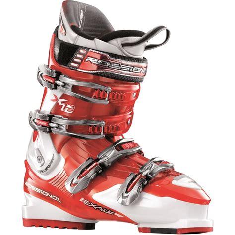 rossignol ski boots rossignol exalt x12 ski boots 2008 evo