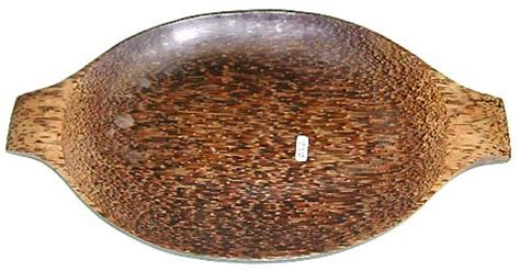 Gift Large 9448 wholesale wooden products smooth finishing coconut wood