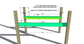 Free woodworking plans to build a twin low loft bunk bed the design