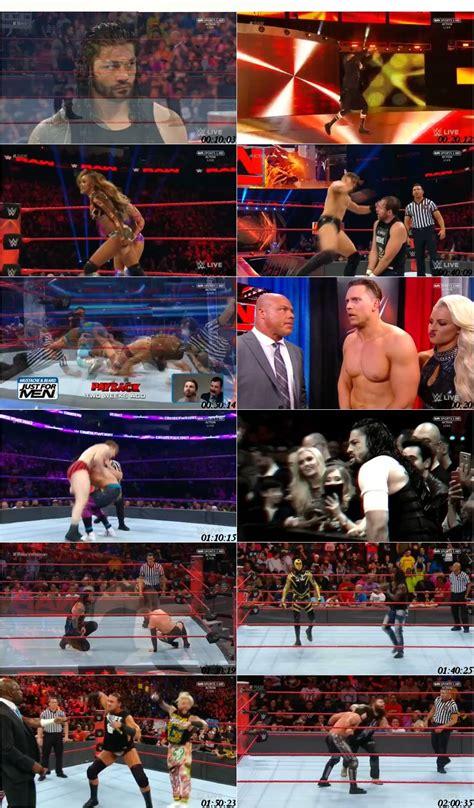 Watch Wwe Raw 2017 05 15 Wwe Monday Night Raw 15th May 2017 Hdtv 576p 500mb