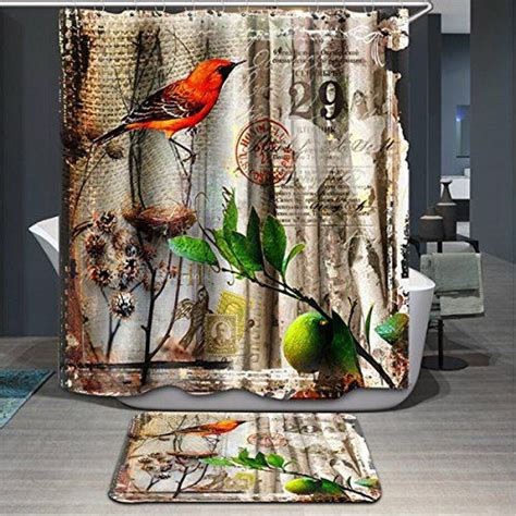 curtains birds theme 25 best bird shower curtain ideas on pinterest