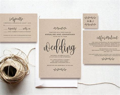Cheap Green Wedding Invitations by 1000 Ideas About Cheap Invitations On Diy
