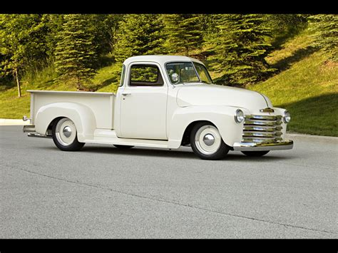 1949 chevrolet by roadster shop front and side