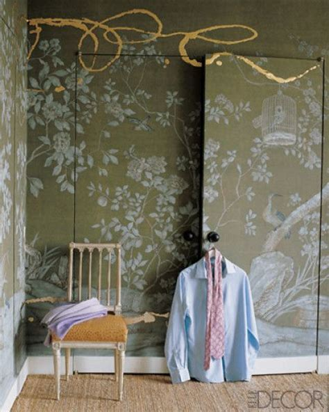 wallpaper on closet doors diy craft projects