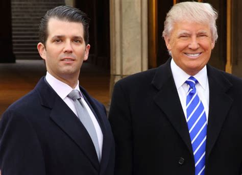 donald trump son talking with donald trump s son about the future of the