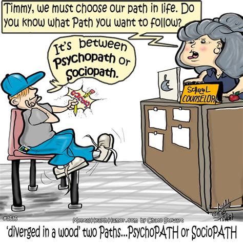 sociopath test so many paths psychopath vs sociopath mental health humor