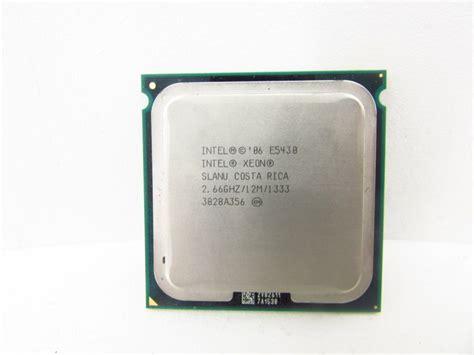 Xeon E5430 hardware processors intel processors cpus intel