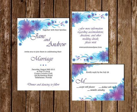 free printable wedding invitations and rsvp printable wedding invitation rsvp information card