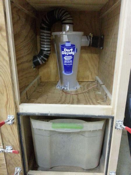 portable dust collection cart  noise reduction dust