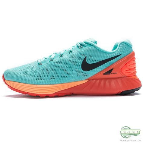 nike womens turquoise running shoes nike running shoe lunarglide 6 turquoise orange