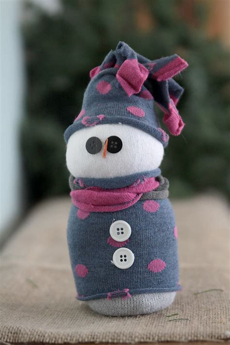 sock snowman how to make them a craft tradition easy sock snowmen it s always