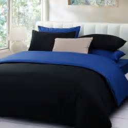Black and blue bedding bedroom ideas pictures