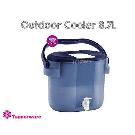 Tupperware Outdoor Cooler 8 7l ready stock original tupperware outdoor cooler 8 7 liter