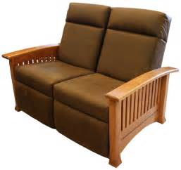 modern mission recliner loveseat ohio hardwood