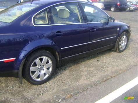 2002 indigo blue pearl volkswagen passat glx sedan 22007705 photo 3 gtcarlot car color