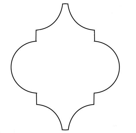 moroccan shapes templates stencils on stencil templates moroccan