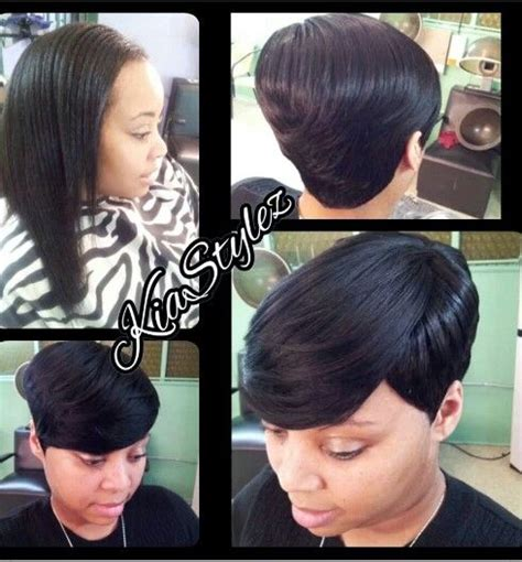 pixie style with tara bump 27 piece weave short cuts pictures short hairstyle 2013