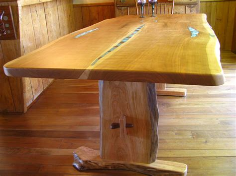 natural wood dining table natural edge live edge dining tables custom wood