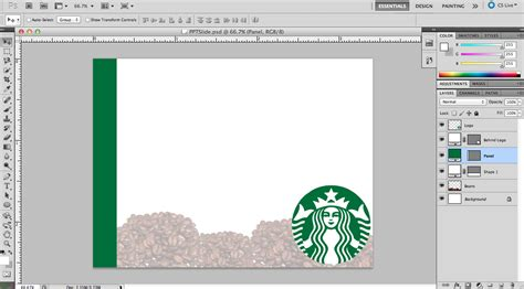 starbucks powerpoint template organize custom powerpoint backgrounds